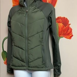 H&M hooded outdoor jacket